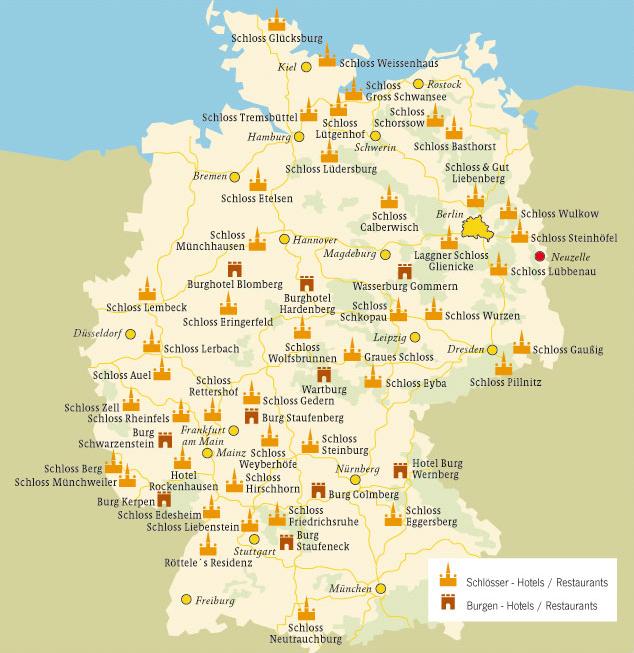 Schlösser Guide | Schlösser und Burgen in Deutschland